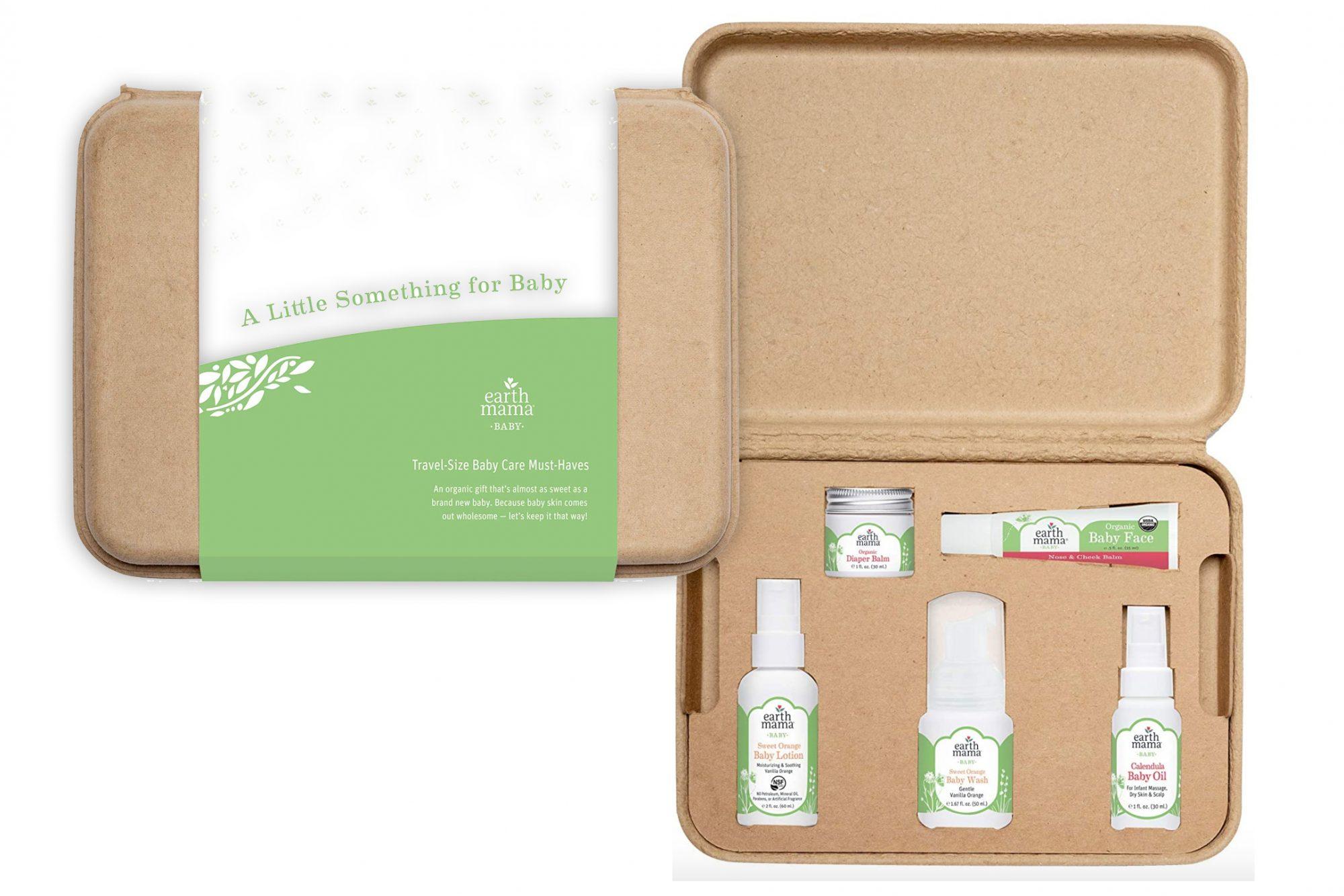 earth mama baby skin care gift set